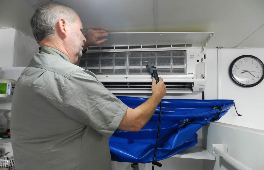 Air Conditioner Cleaning Process
